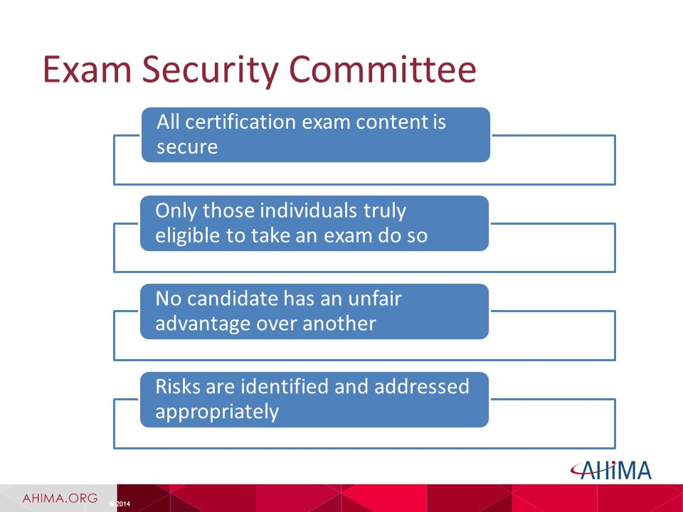 ahima's commission on certification for health informatics and ...