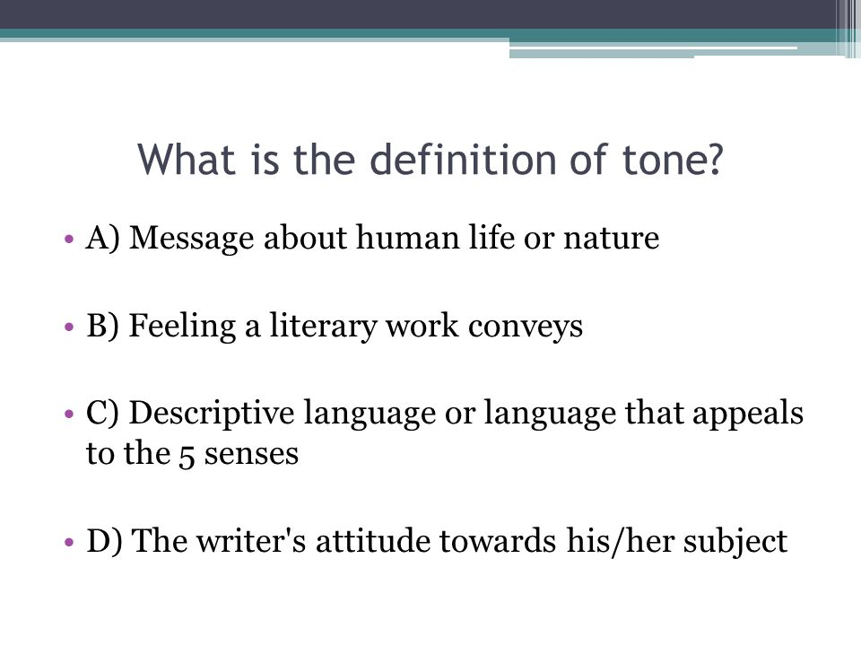 definition of descriptive language in literature