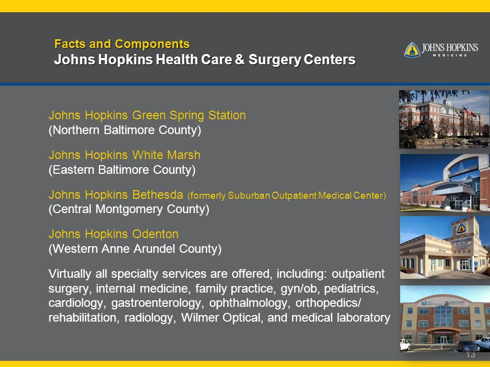 Excellence and Discovery: A Brief 1  Johns Hopkins Medicine