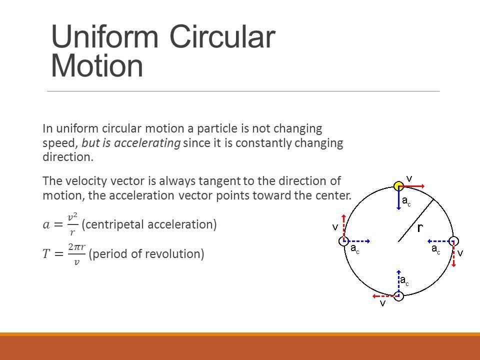 UNIFORM CIRCULAR MOTION PHYSICS EBOOK