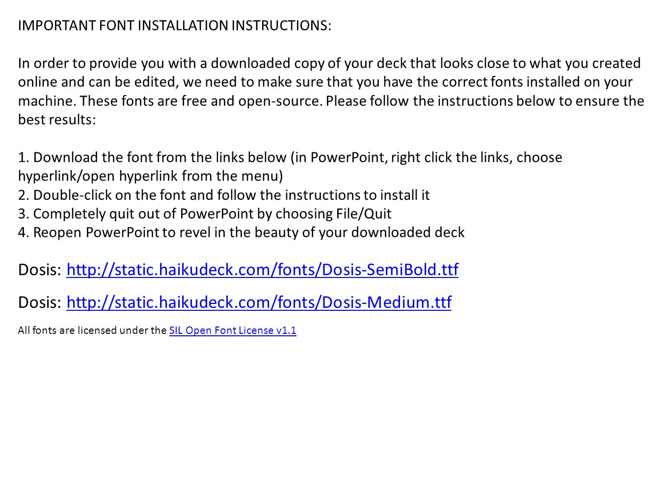 important font installation instructions in order to provide you
