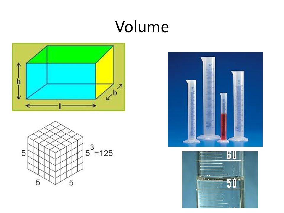 Volume 1.Volume is the amount of space that something occupies in 3-dimensional space.