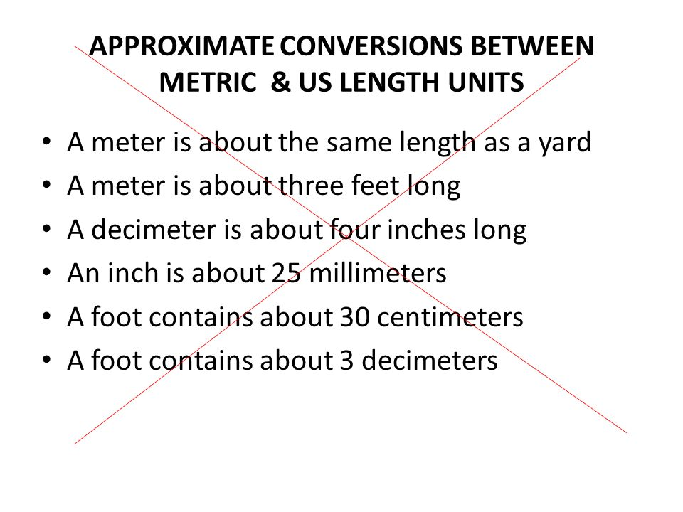 THE METRIC CONVERSION CHART (STAIRCASE METHOD) Kilo 1000 units Hecto 100 units Deka 10 units Basic Unit Deci 0.1 units Centi 0.01 units Milli units To convert to a smaller unit, move decimal point to the right or multiply.