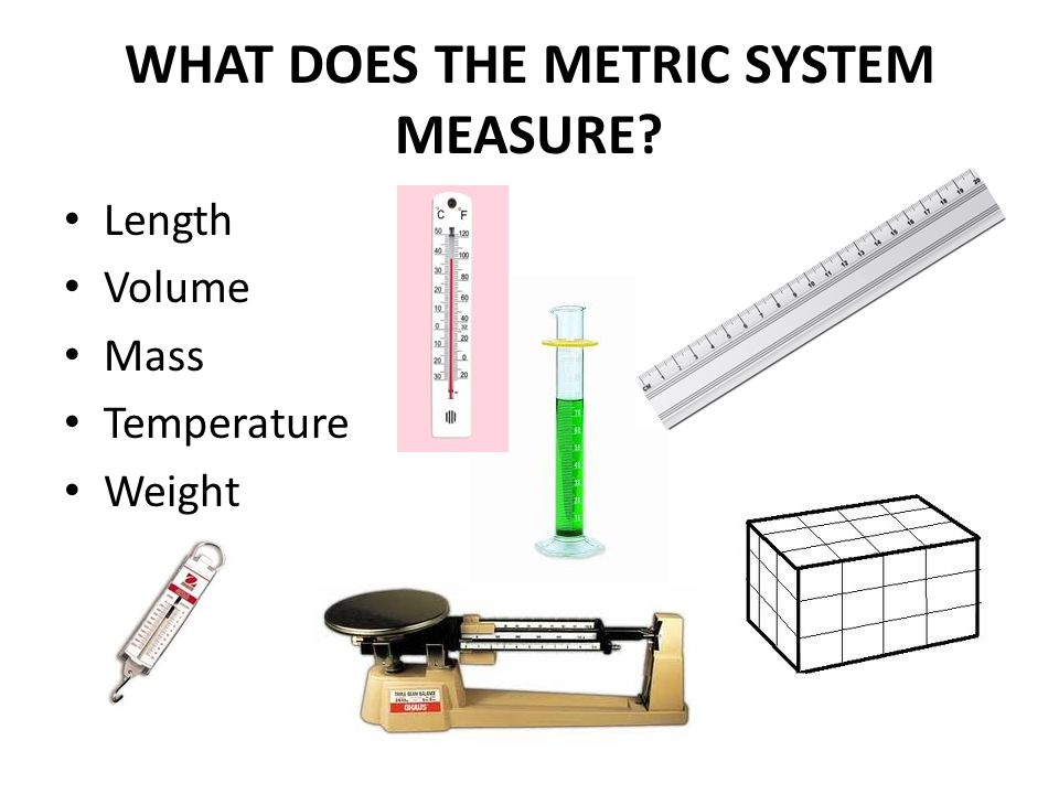 APPROXIMATE CONVERSIONS BETWEEN METRIC & US LENGTH UNITS A meter is about the same length as a yard A meter is about three feet long A decimeter is about four inches long An inch is about 25 millimeters A foot contains about 30 centimeters A foot contains about 3 decimeters