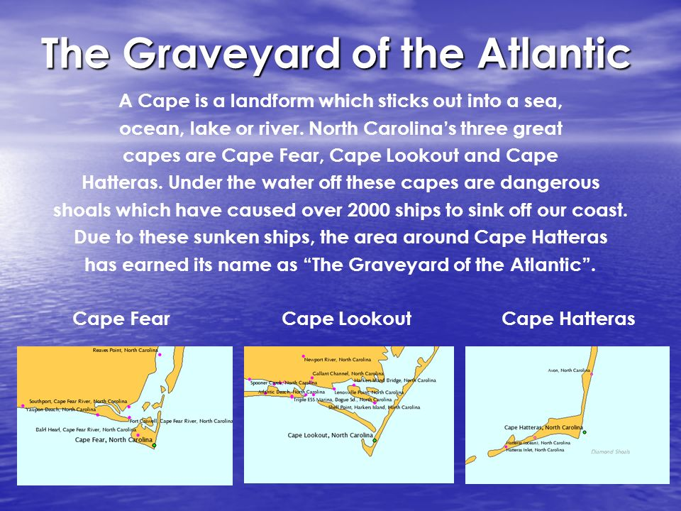 North Carolina Architecture Lighthouses Map Of Nc Coast The Coast