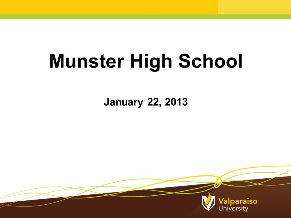 Munster High School January 22, Private schools discount