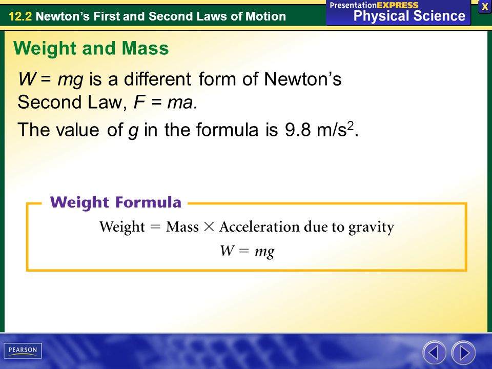 122 Newton's First And Second Laws Of Motion Inertia Is The. 122 Newton's First And Second Laws Of Motion W Mg Is A Different Form. Worksheet. Newton S Second Law And Weight Worksheet Answer Key At Mspartners.co