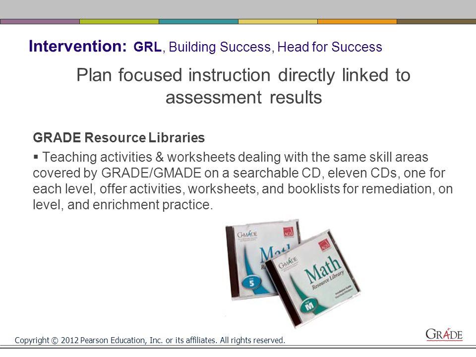 Copyright 2012 Pearson Education Inc Or Its Affiliates