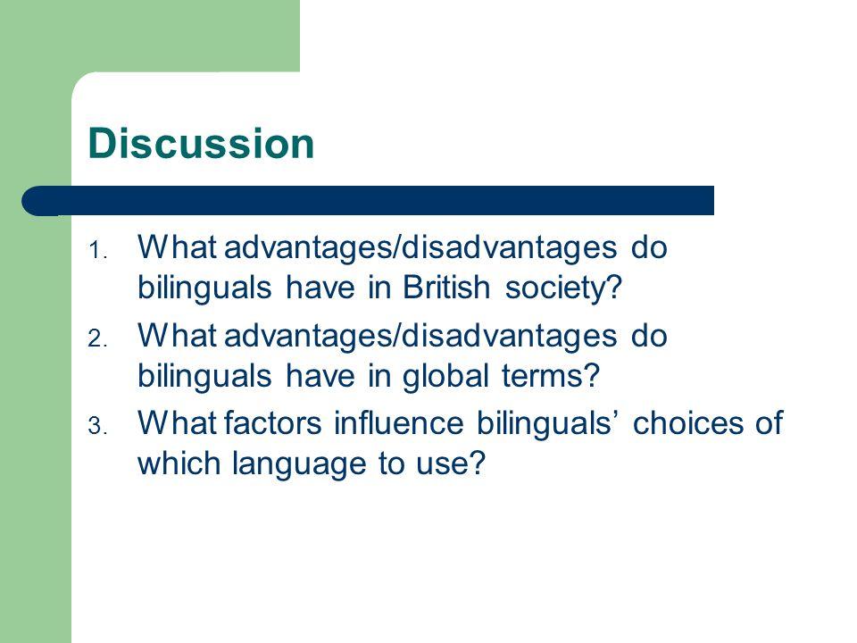 disadvantages of bilingualism