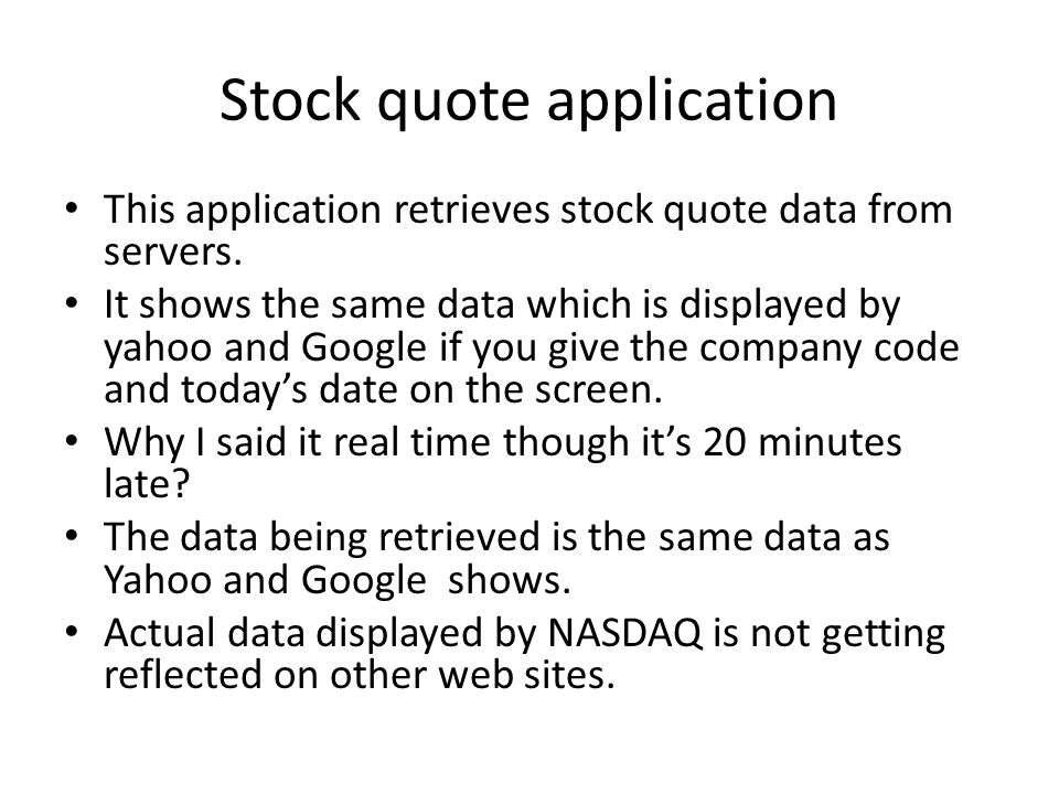 real time stock quotes - 960×720