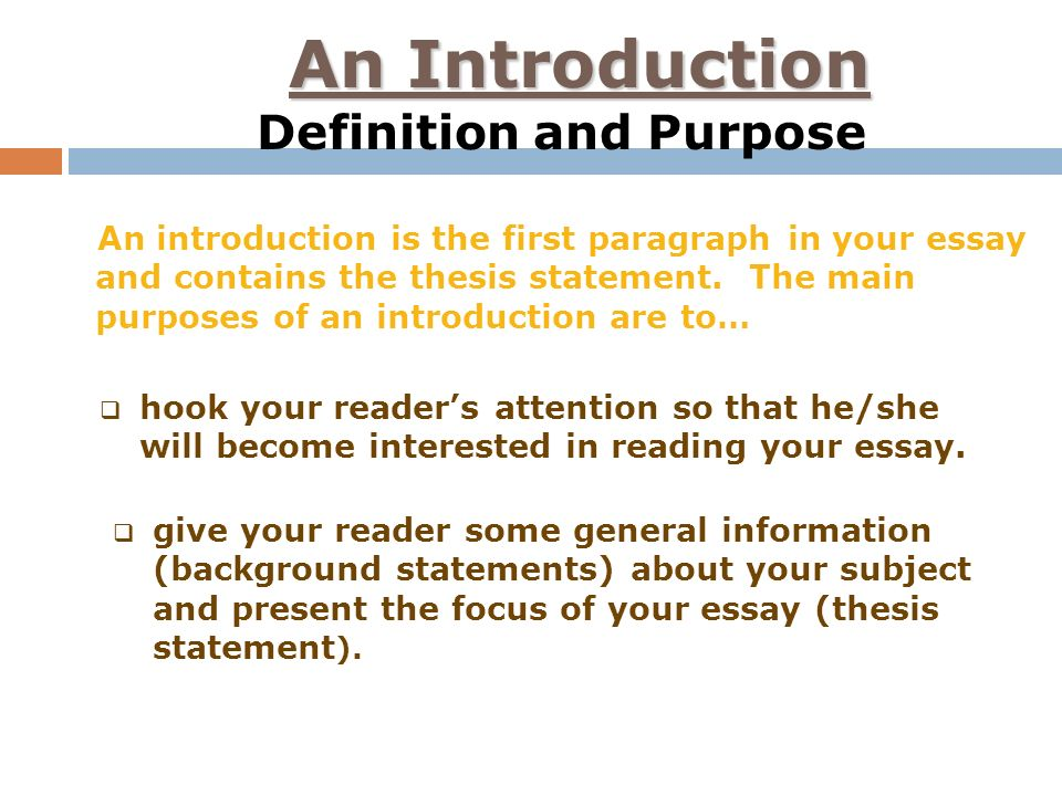 hook in introduction paragraph