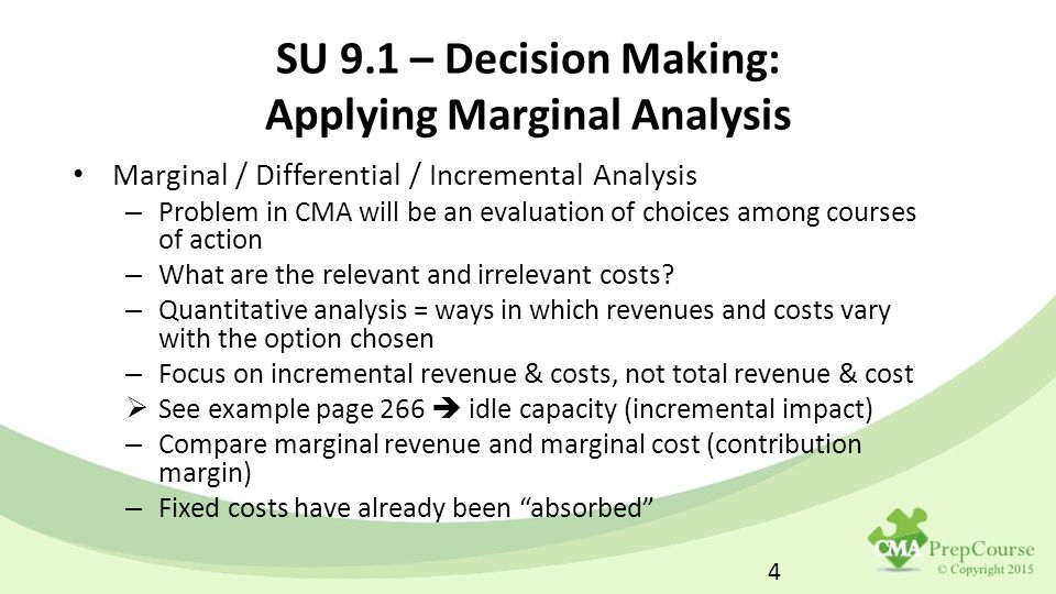 Marginal costing and cost-volume-profit analysis ppt video.