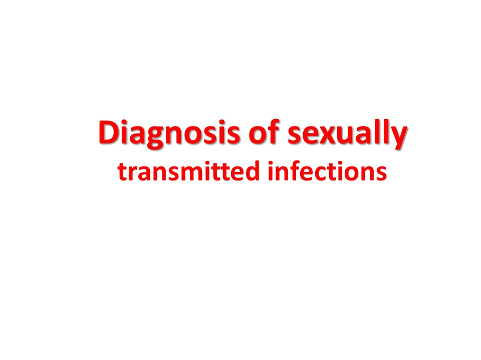 Nice sexually transmitted infections powerpoint