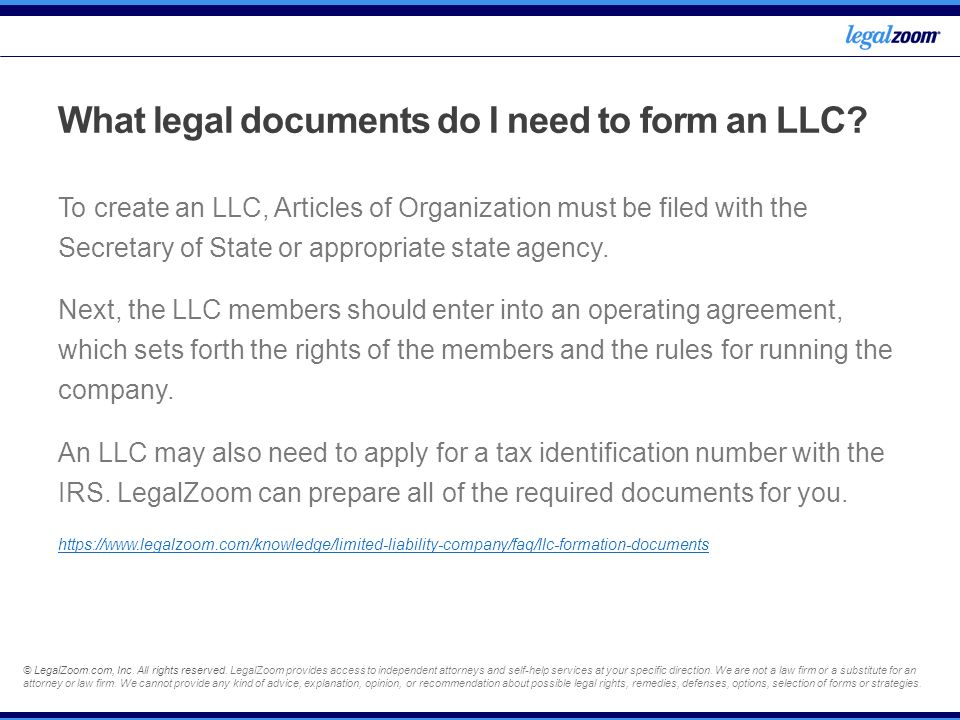 Limited Liability Company Frequently Asked Questions Ppt Download