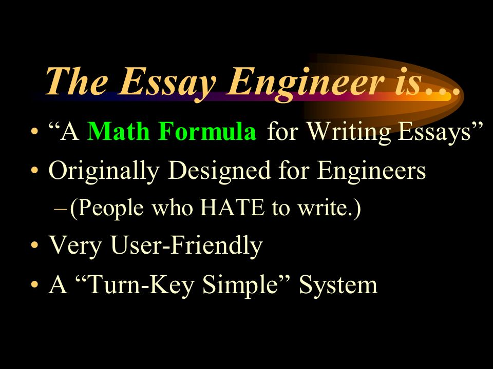 essay on what i want to be a engineer Free essay: engineers are viewed as the backbone of modern society 526 words 3 pages engineers are viewed as the backbone of modern society the innovation and the creativity that drives our society forward are inspired by the teachings of engineering, whether it is transporting on a bus.
