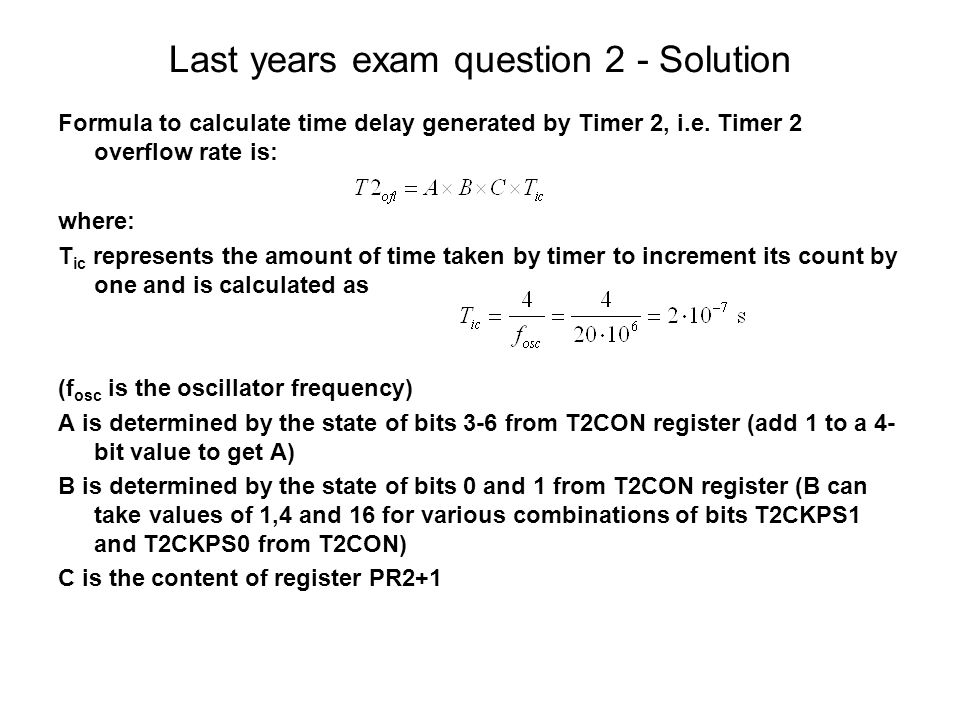 One more PIC18F252 example and revision for exam B222L