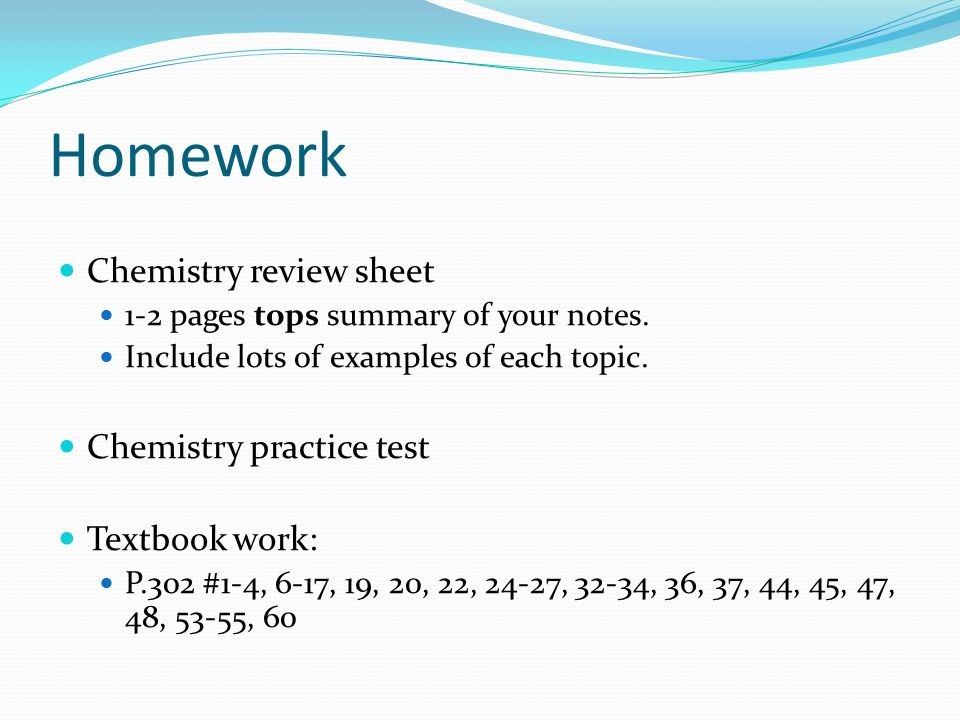 Unit test review test will cover chapter 5 physical chemical 3 homework urtaz Image collections