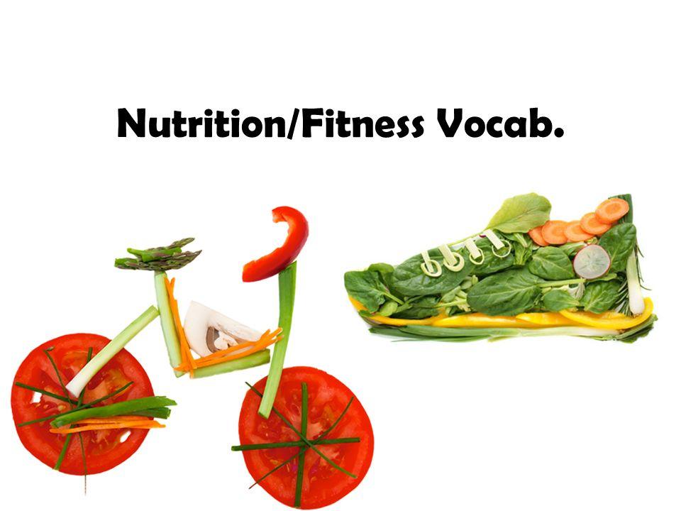 1 nutritionfitness vocab