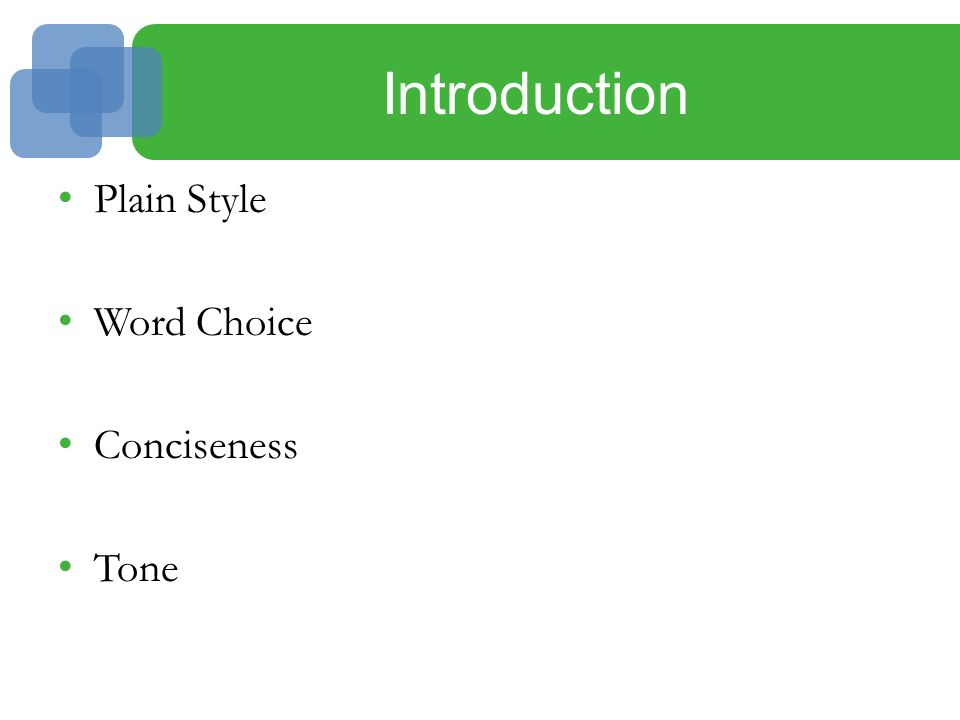 3 Business Style: Word Choice, Conciseness, and Tone  - ppt