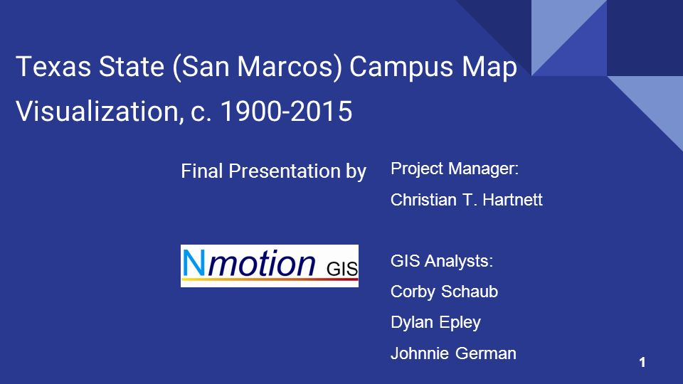 San Marcos Campus Map.Texas State San Marcos Campus Map Visualization C Final