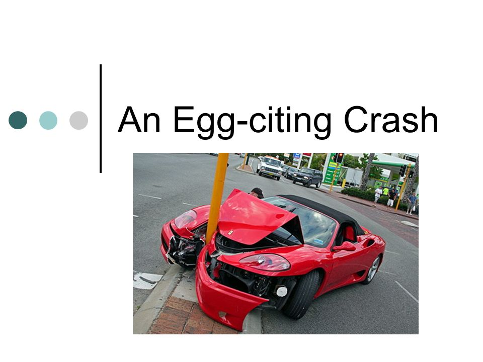 An Egg Citing Crash Objectives Of Lesson Automotive Safety Features
