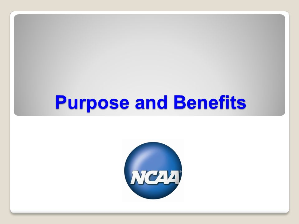 ncaa athletics certification orientation purpose and benefits