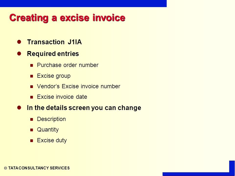 TATA CONSULTANCY SERVICES MM - INVOICE VERIFICATION  - ppt