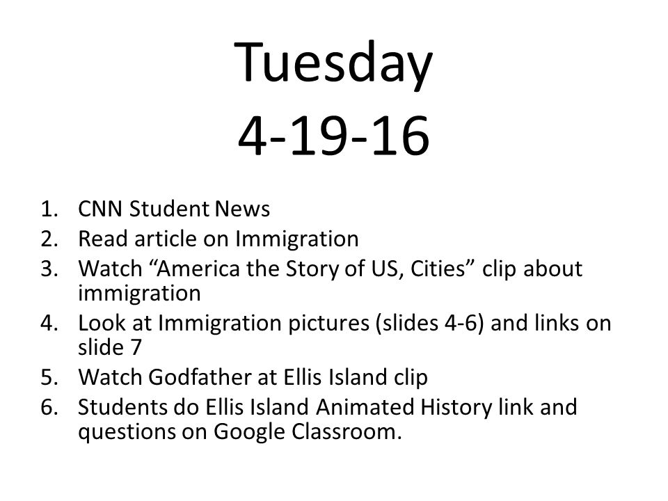 Tuesday Cnn Student News 2 Read Article