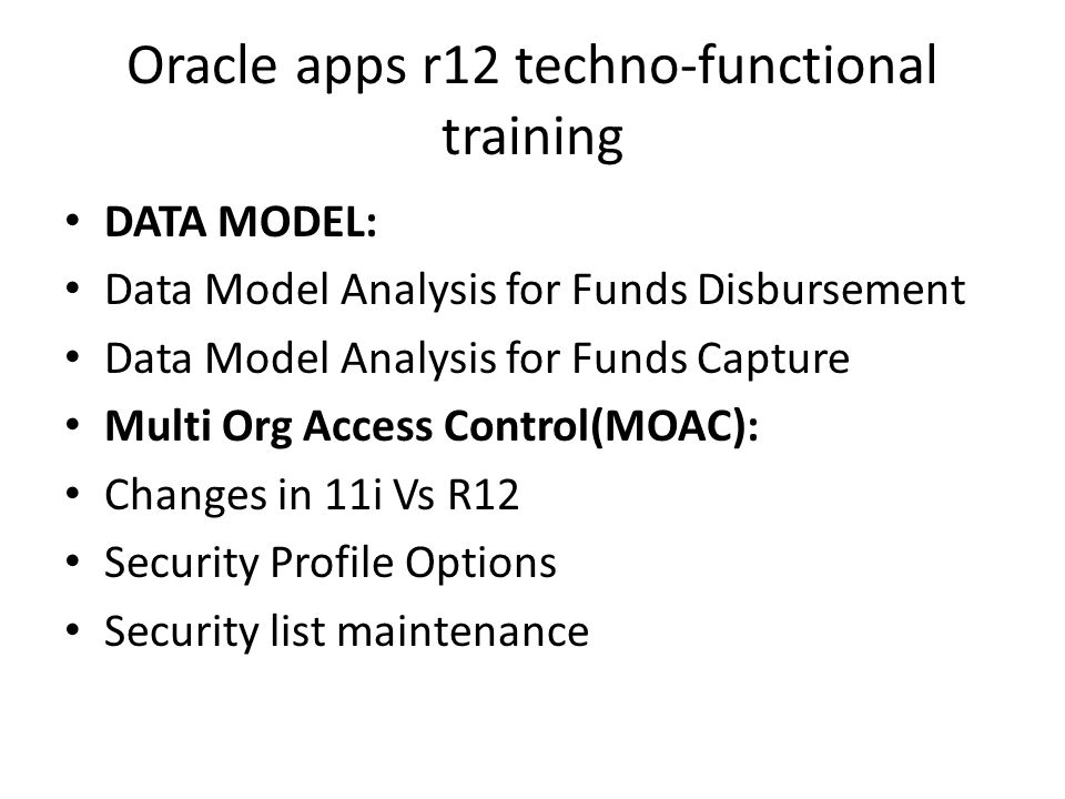 Oracle Apps Finance Online training Contact : SPECTO TRAINING ppt