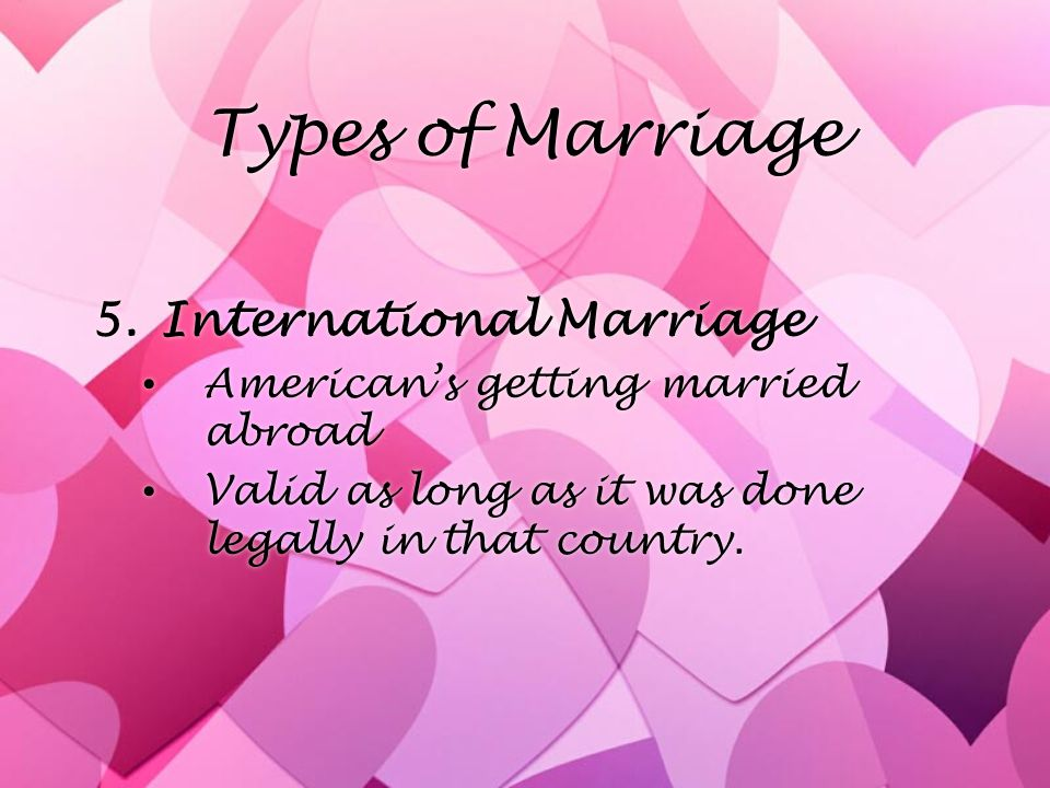 Ch  20 Marriage and Divorce  Marriage »Legal union of ONE