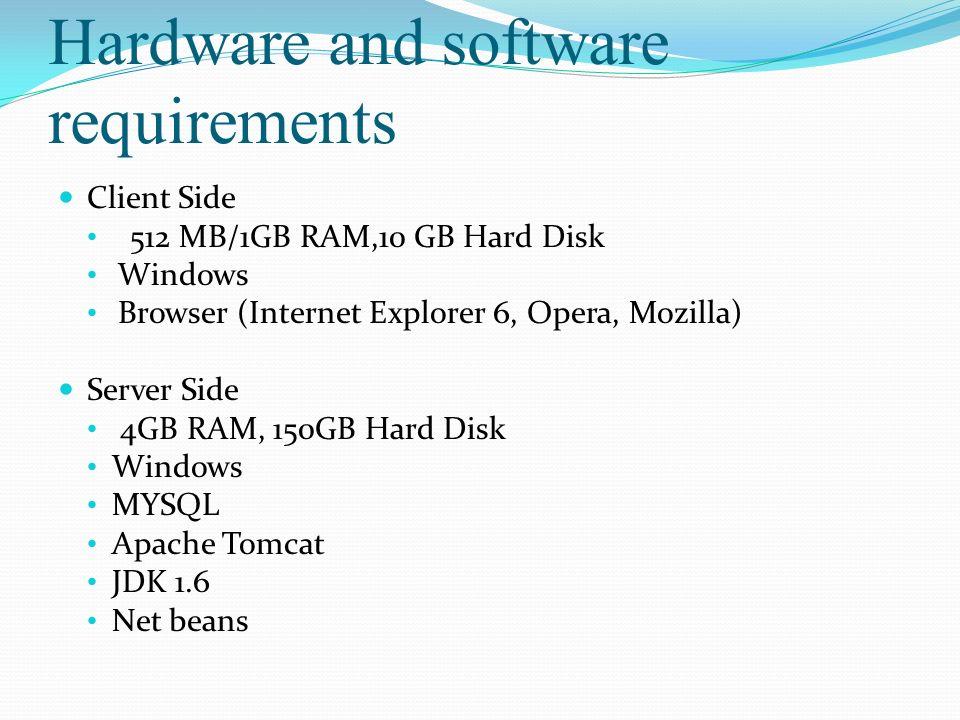 Agenda Introduction Literature Survey Hardware And Software - Hardware and software requirements