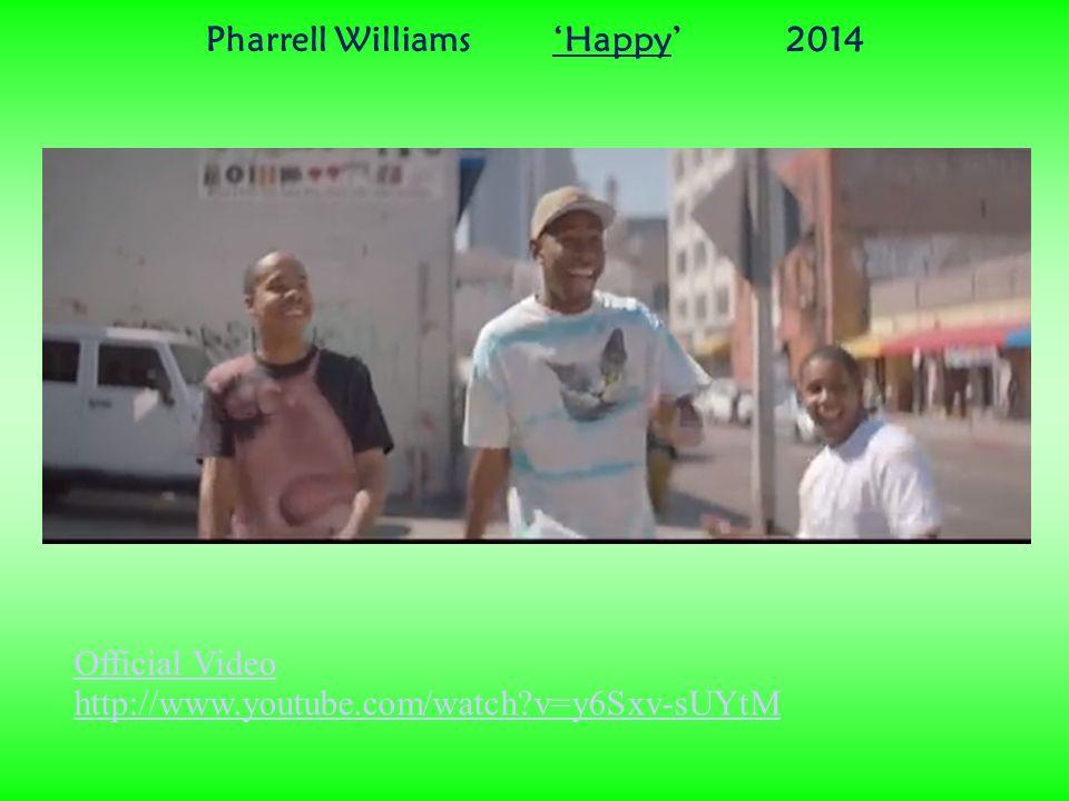 fa44f712a5fc7 ... Video Pharrell Williams  Happy  2014.