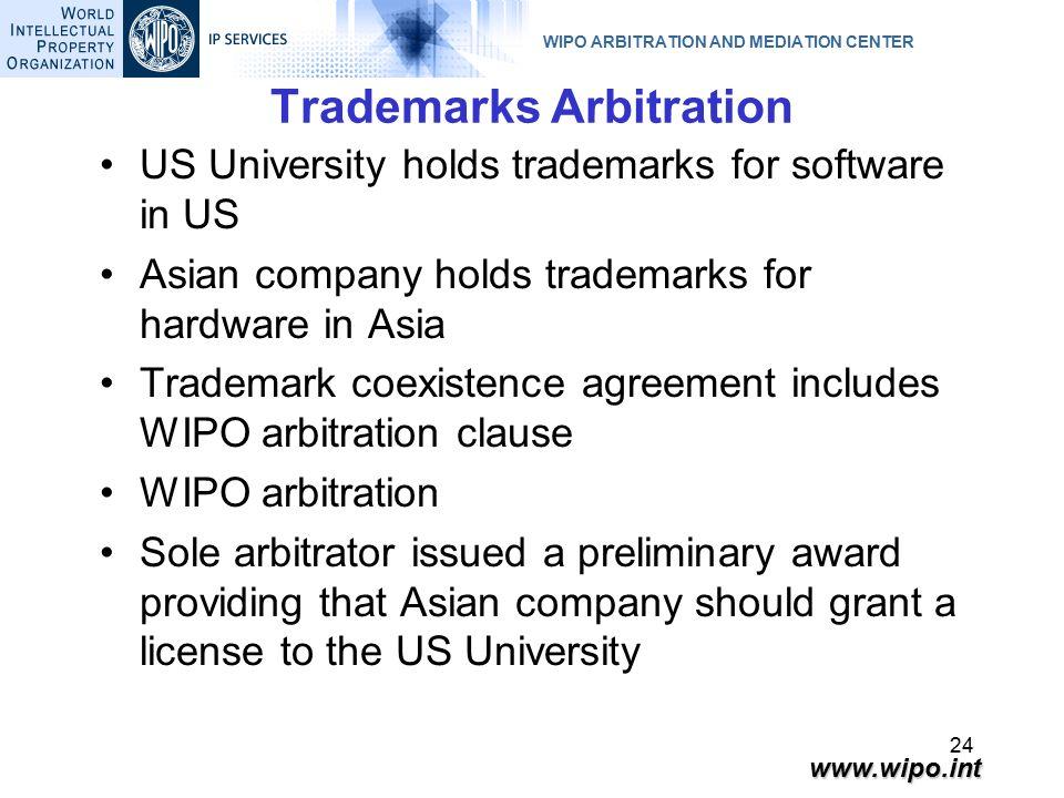 Wipo Arbitration And Mediation Center 1 Ignacio De Castro Wipo