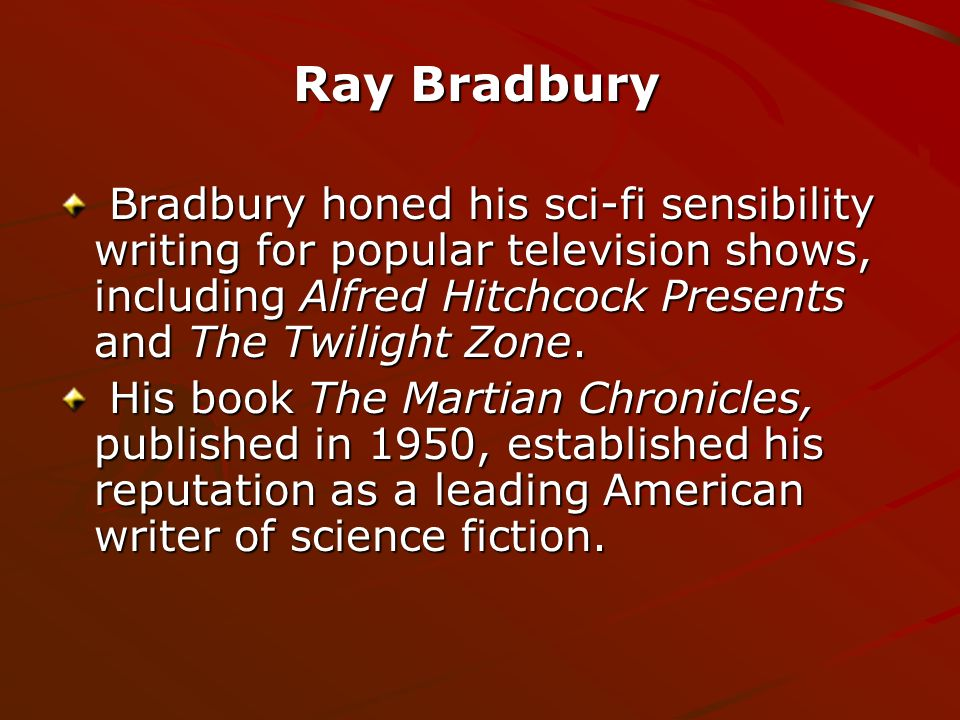 Fahrenheit 451 by ray bradbury bradbury honed his sci fi 2 bradbury toneelgroepblik Image collections