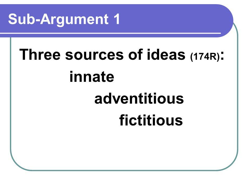 adventitious ideas