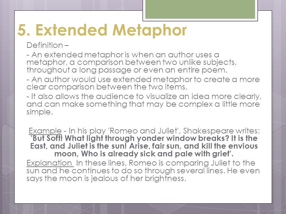 6 5 Extended Metaphor
