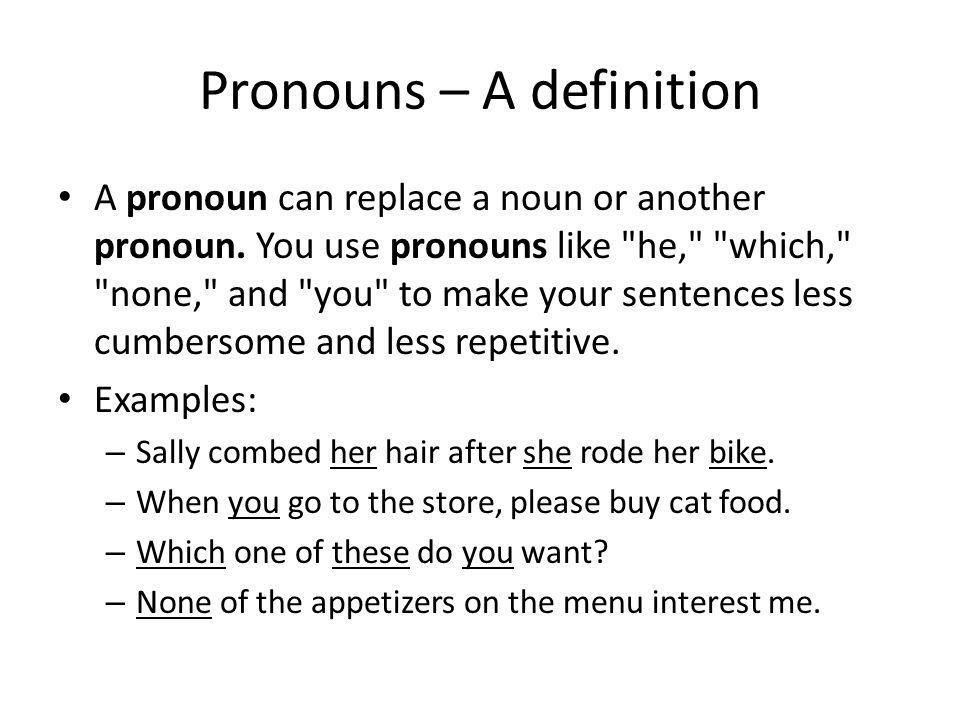 English parts of speech.