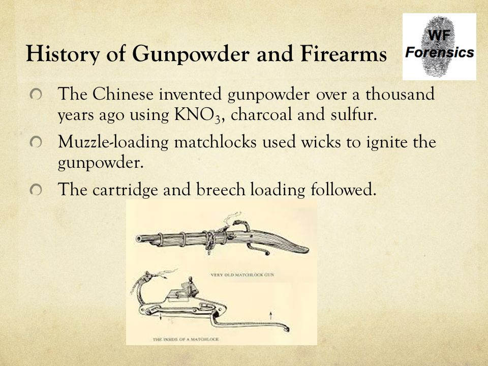 Ballistics  History of Gunpowder and Firearms The Chinese invented