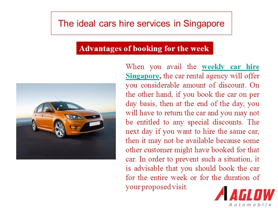 The Ideal Cars Hire Services In Singapore Hire The Car For The Week