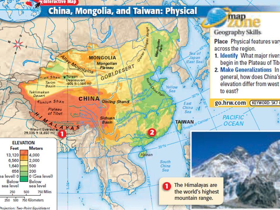 china mongolia and taiwan physical map Mongolia Lessons Tes Teach china mongolia and taiwan physical map