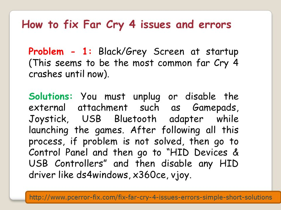 How to fix Far Cry 4 issues and errors with very simple and