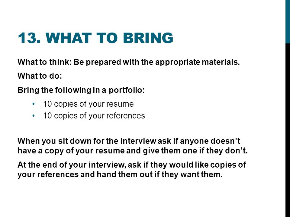 Interview Tips What You Need To Know Before You Go Into An Interview