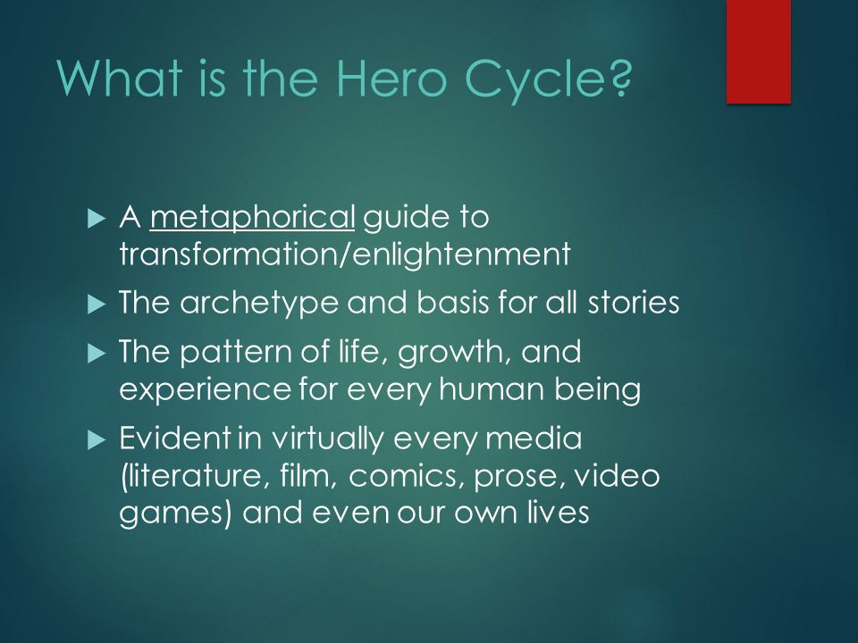 The Heros Journey What Is Mythology A Metaphor That Provides