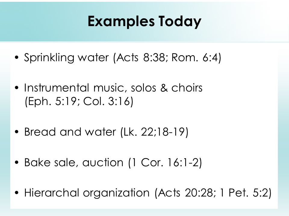 examples of instrumental music