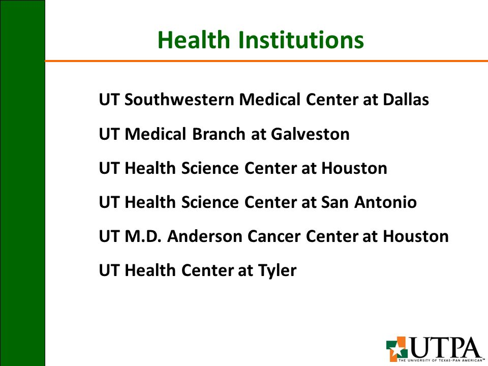 UTPA in Context S J  Sethi, Ph D  Executive Director Office