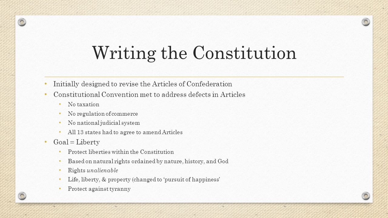 Constitutional Principles Worksheet Answers