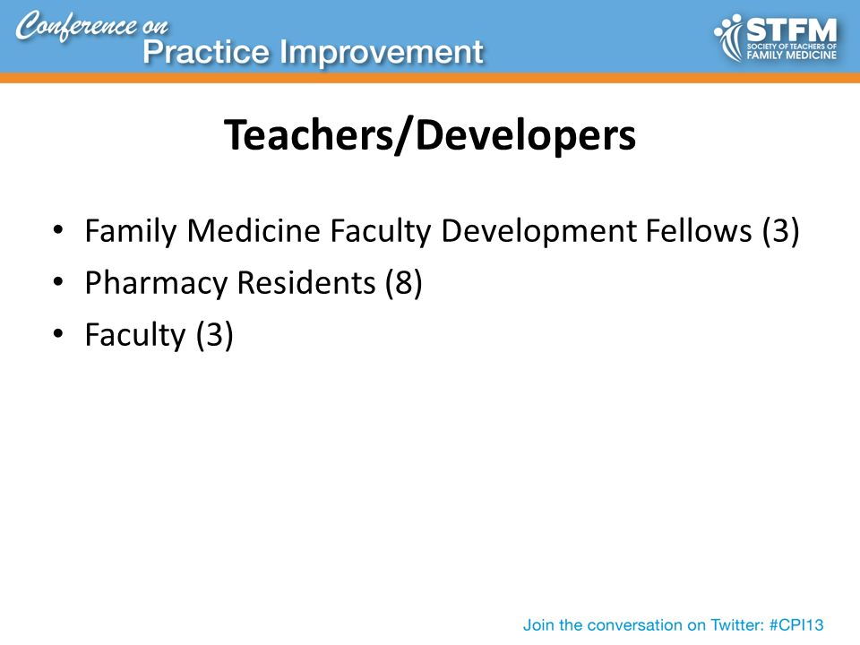 Teaching the Patient Centered Medical Home (PCMH): Taking a