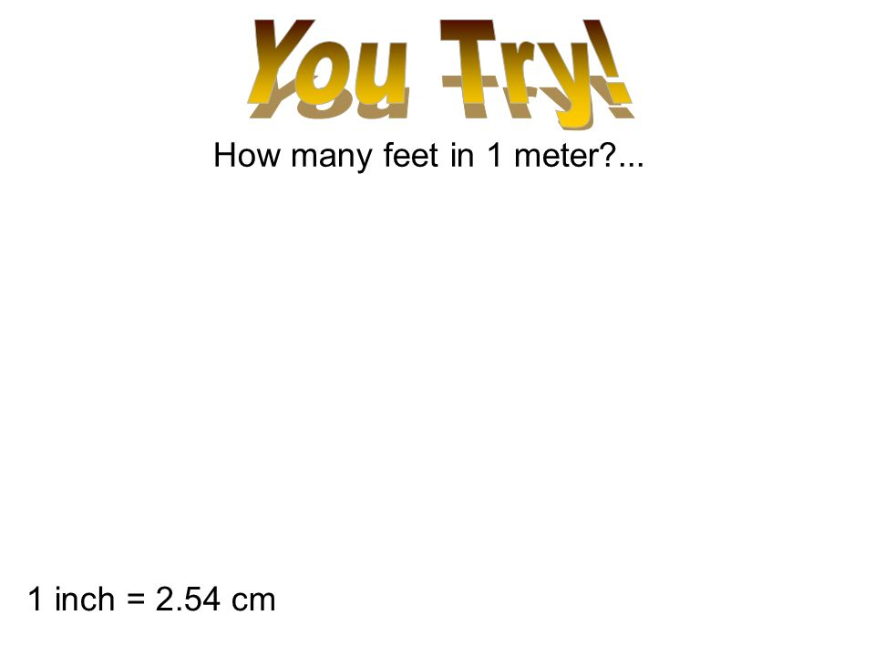12 How Many Feet