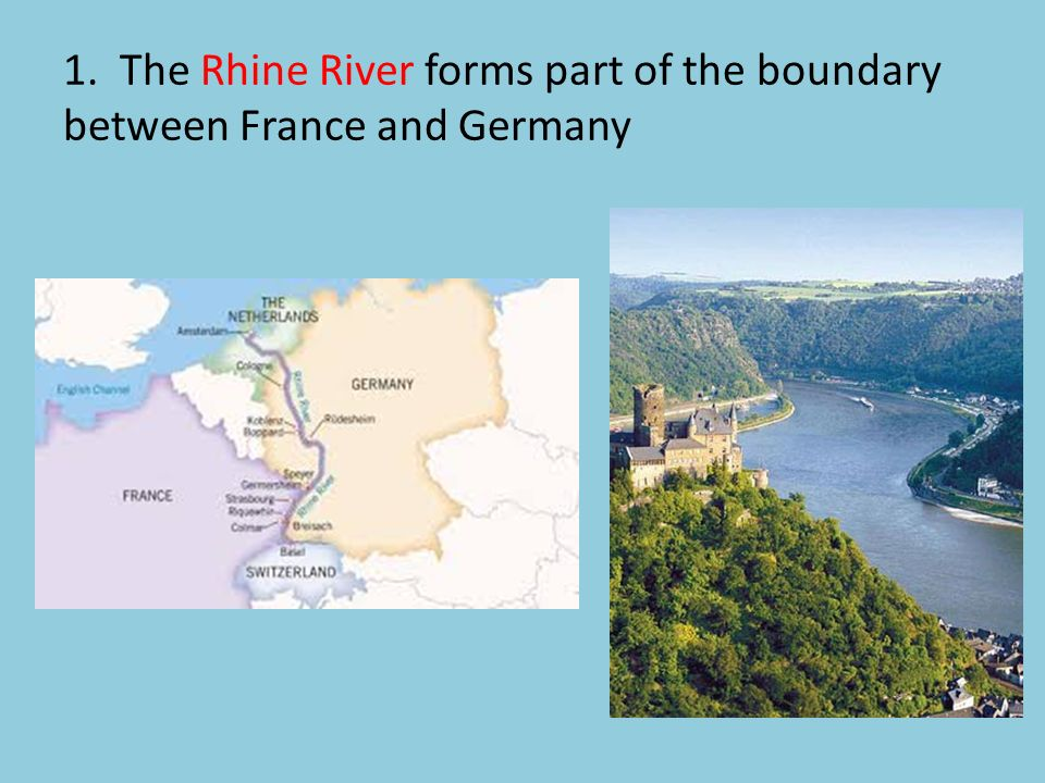 Map Of Germany Landforms.Geography Of Europe Foldable Front Panels Geography Of Europe