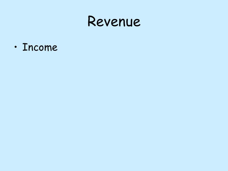 3 revenue income